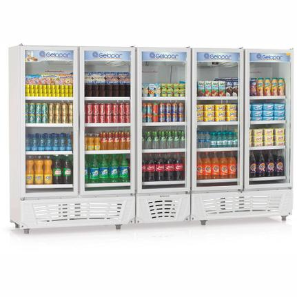 Geladeira/refrigerador 2492 Litros 5 Portas Branco - Gelopar - 220v - Grvc2500