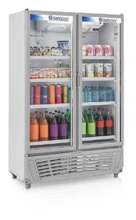 Geladeira/refrigerador 957 Litros 2 Portas Azul - Gelopar - 220v - Grvc950