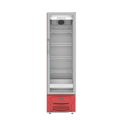Geladeira/refrigerador 209 Litros 1 Portas Vermelho - Venax - 110v - Vvcd