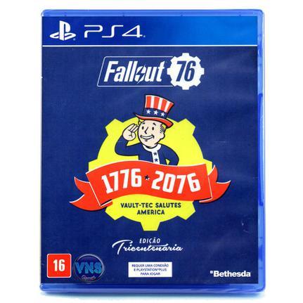 Jogo Fallout 76 Tricentennial - Playstation 4 - Bethesda