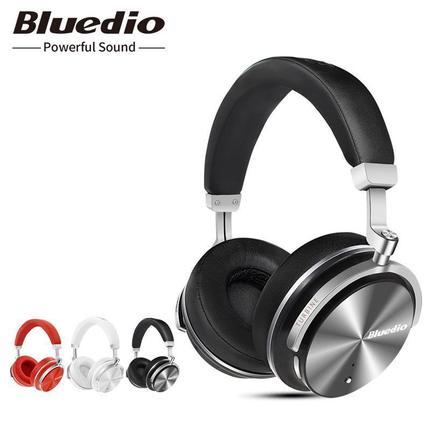 Fone de Ouvido Active Noise Canceling Bluedio T4
