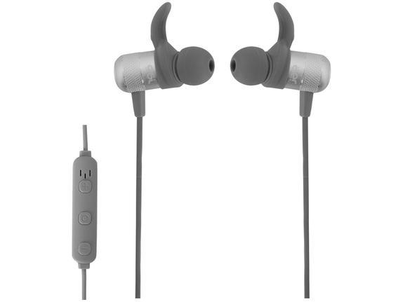 Fone de Ouvido Intra-auricular Bluetooth Com Microfone Aer Move Cinza Geonav Aer01g