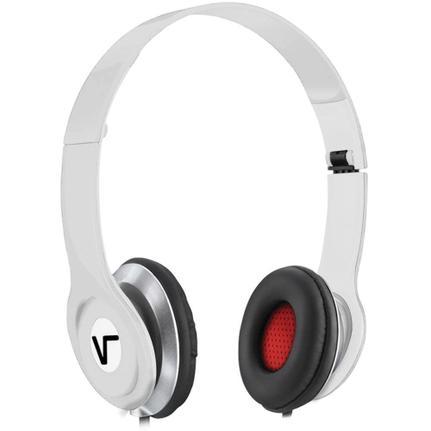 Fone de Ouvido Headphone Dobrável Vbass V1 Branco Vinik 18522
