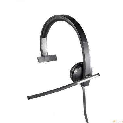 Fone de Ouvido Headset Stéreo Preto Logitech H570e