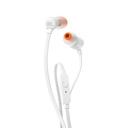 Fone de Ouvido Intra-auricular Tune Branco Jbl Jblt110wht