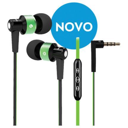 Fone de Ouvido Intra-auricular Verde Elsys Eaf0111-6