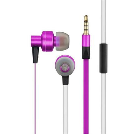 Fone de Ouvido Auricular Com Microfone Rosa Pulse Sound Ph155