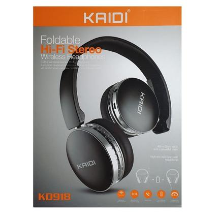 Fone de Ouvido Bluetooth Wireless Kaidi Kd918