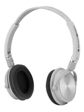 Fone de Ouvido Headphone Over Ear Branco Lyco Lcpro-500b