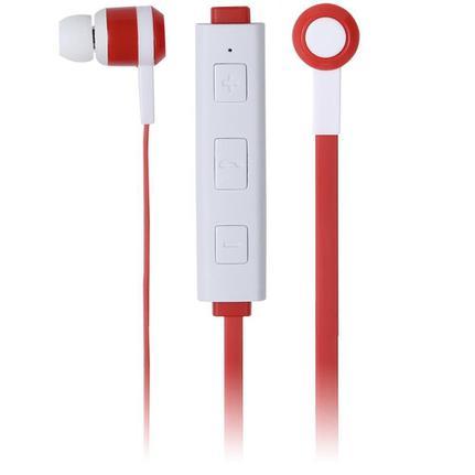 Fone de Ouvido Intra-auricular Freedom Bluetooth Vermelho e Branco Maxprint 6012292