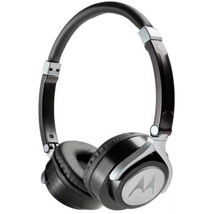 Fone de Ouvido Headphone Com Microfone Pulse 2 Wired Branco Motorola Mo-sh005whi