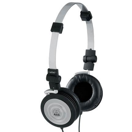 Fone de Ouvido Kit 10 Unid Headphone Original Preto Akg K414p