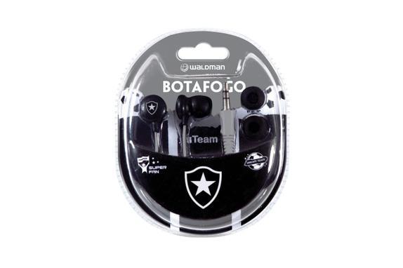 Fone de Ouvido Intra-auricular Super Fan Botafogo Waldman Sf10bot