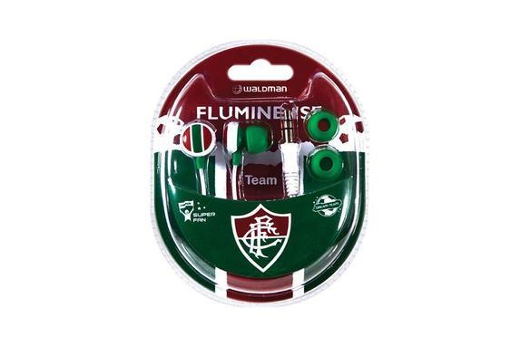 Fone de Ouvido Intra-auricular Super Fan Fluminense Waldman Sf10flu