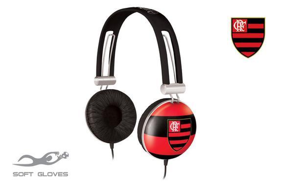 Fone de Ouvido Over Ear Flamengo Oficial Waldman Sg-10-/fla