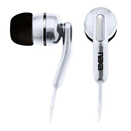 Fone de Ouvido Intra-auricular 5mw Branco Naxa Ne921