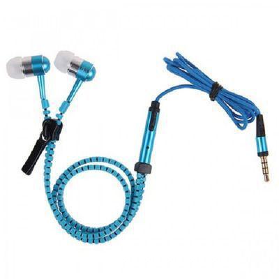 Fone de Ouvido Intra-auricular Zipper Vermelho Lvate