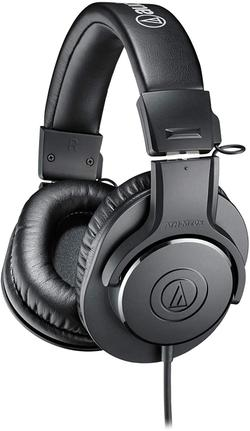 Fone de Ouvido Headphone Closed-back Dynamic Stereo Audio Technica Ath-m20