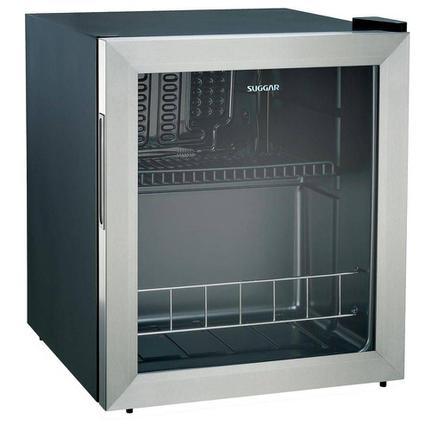 Geladeira/refrigerador 46 Litros 1 Portas Inox - Suggar - 220v - Fb4612ix