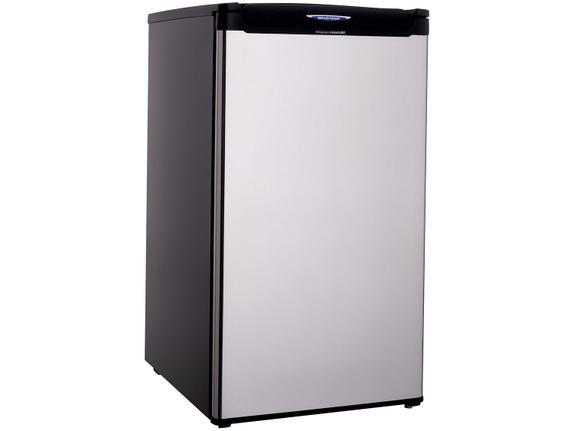 Geladeira/refrigerador 120 Litros 1 Portas Inox - Brastemp - 110v - Brc12xkana
