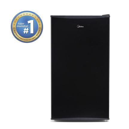 Geladeira/refrigerador 93 Litros 1 Portas Preto - Midea - 110v - Mrc10b1b