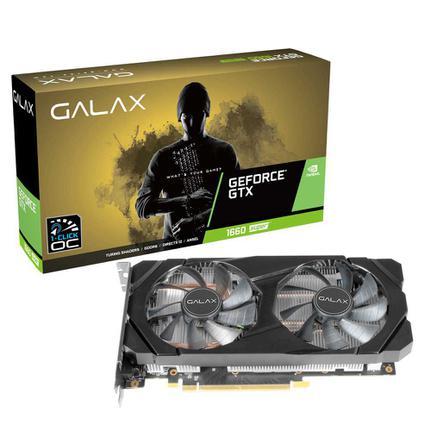Placa de Vídeo Galax Gtx 1660 6gb Ddr6 60srl7dsy91s