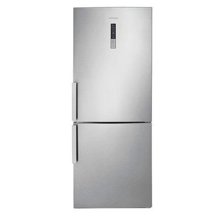 Geladeira/refrigerador 435 Litros 2 Portas Inox Bottom Freezer Barosa - Samsung - 110v - Rl4353jbasl/az