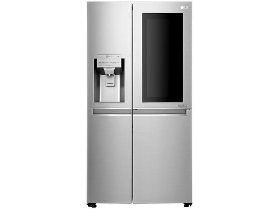 Geladeira/refrigerador 601 Litros 4 Portas Aço Escovado - LG - 220v - Gc-x247csbv