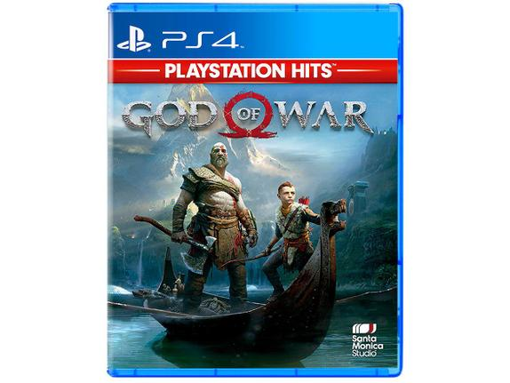 Jogo God Of War Remasterizado Hits - Playstation 4 - Santa Mônica