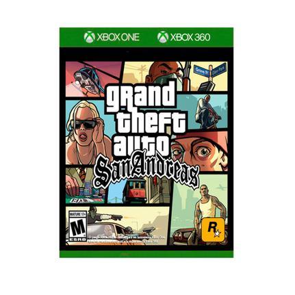 Jogo Gta San Andreas - Xbox 360 - Rockstar Games
