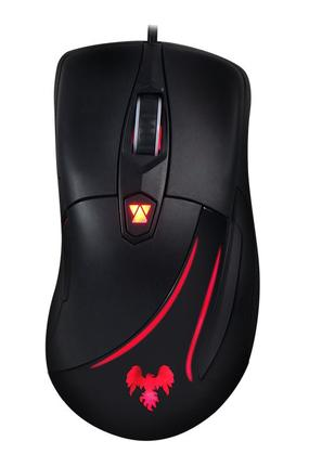 Mouse Usb Óptico Led 5000 Dpis Vesper Gamer Hawkon