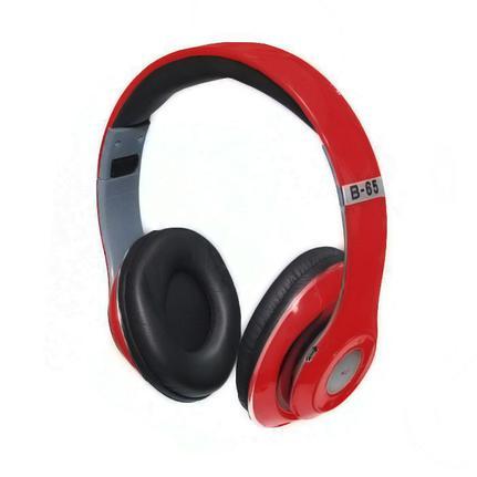 Fone de Ouvido Bluetooth Sd Card Fm Stereo Radio Dex B65