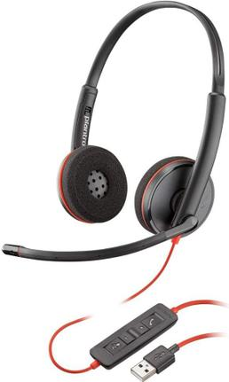 Fone de Ouvido Headset Blackwire Plantronics C3220