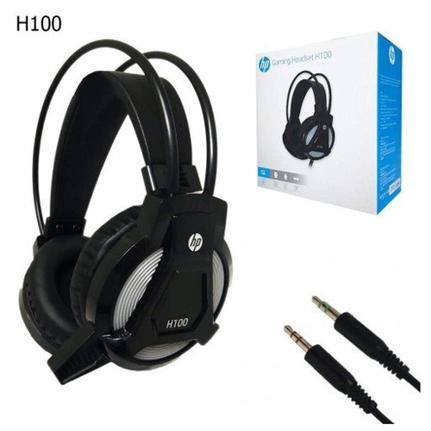 Fone de Ouvido Headset Gamer H100 Hp