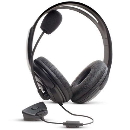 Fone de Ouvido Headset Gamer Com Controle Preto Dazz 621102