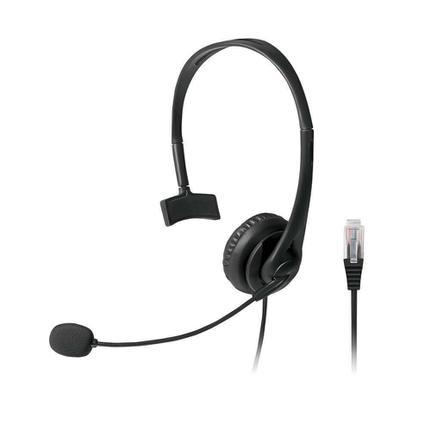 Fone de Ouvido Headset Com Conector Rj45 Multilaser Ph251