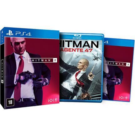 Jogo Hitman 2 Edição Limitada - Playstation 4 - Square Enix