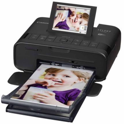 Impressora Fotográfica Canon Selphy Cp1300 Jato de Tinta Colorida Usb e Wi-fi Bivolt