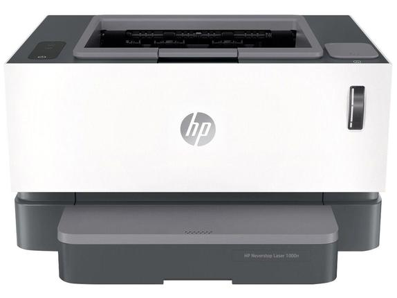 Impressora Convencional Hp Neverstop 1000n 5hg74a Laser Monocromática Usb e Ethernet Bivolt