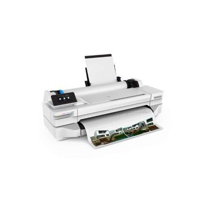 Plotter Hp Designjet T130 5zy58a Jato de Tinta Térmico Colorida Usb, Ethernet e Wi-fi Bivolt