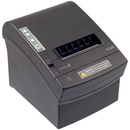 Impressora Térmica Não Fiscal Elgin I8 Transferência Térmica Monocromática Usb Bivolt