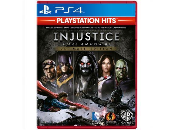 Jogo Injustice Gods Among Us Ultimate Edition - Playstation 4 - Warner Bros Interactive Entertainment