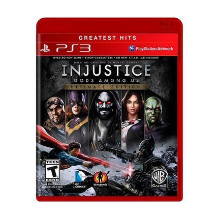 Jogo Injustice Gods Among Us Ultimate Edition - Playstation 3 - Warner Bros Interactive Entertainment