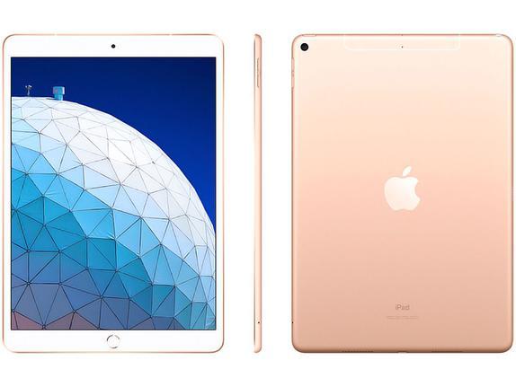 Tablet Apple Ipad Air 3 Mv0q2bz/a Dourado 256gb 4g