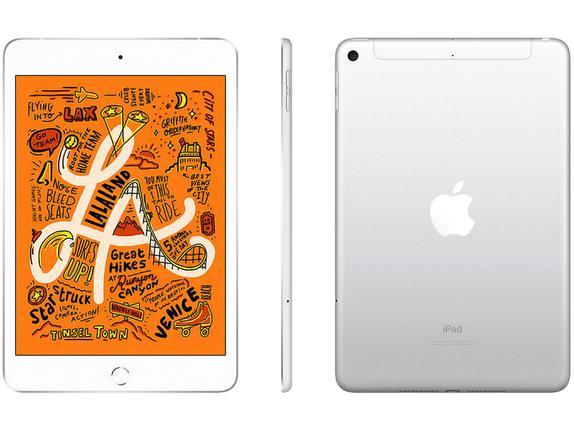 Tablet Apple Ipad Mini 5 Mux62bz/a Prata 64gb 4g