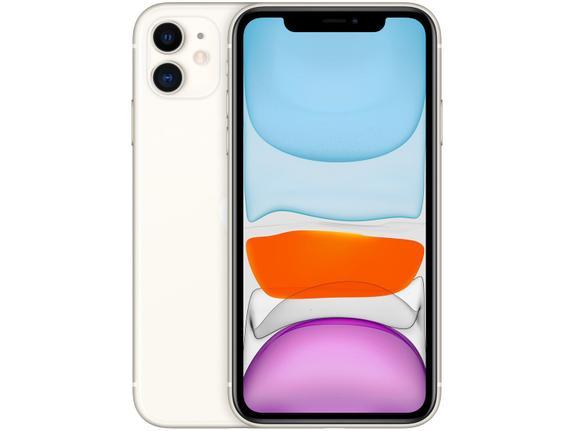 Celular Smartphone Apple iPhone 11 128gb Branco - 1 Chip
