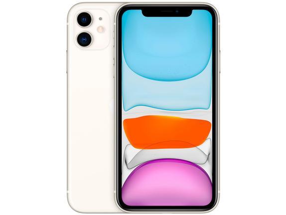 Celular Smartphone Apple iPhone 11 64gb Branco - 1 Chip