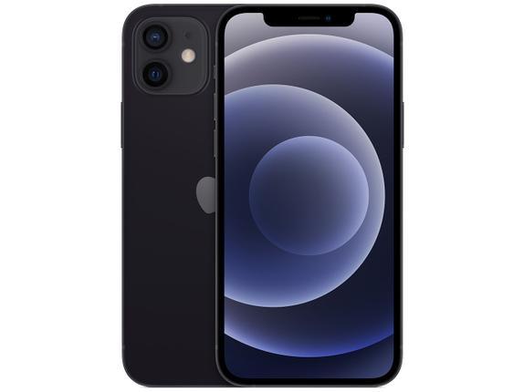 Celular Smartphone Apple iPhone 12 128gb Preto - Dual Chip