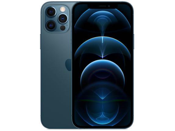 Celular Smartphone Apple iPhone 12 Pro 512gb Azul - Dual Chip