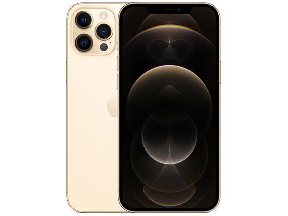 Celular Smartphone Apple iPhone 12 Pro Max 256gb Dourado - Dual Chip